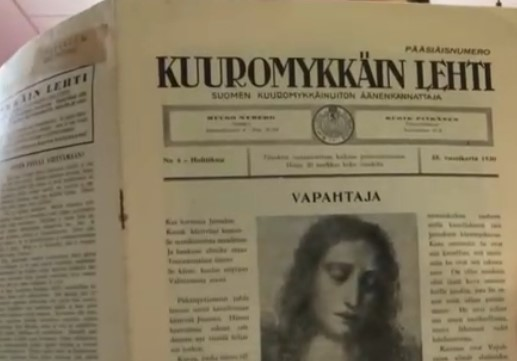 Kuuromykkä-sana (KML 41930) - Viittomakielinen kirjasto