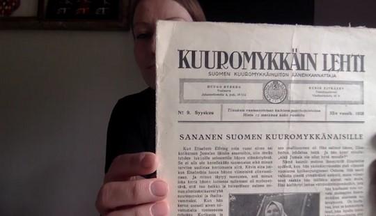 Kuuromykkäinlehden kansikuva.